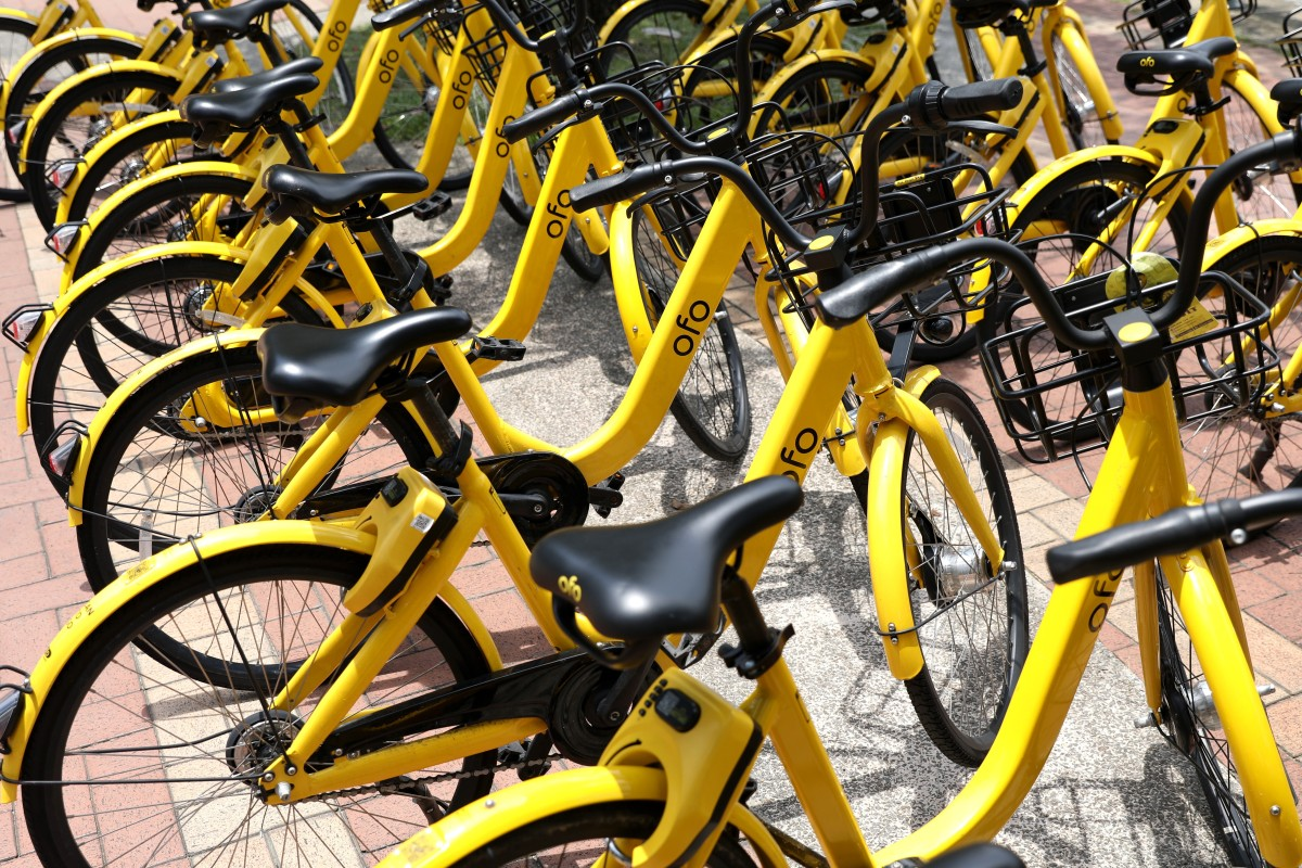 3ce2fe762e2 Angry customers of Chinese bike-sharing pioneer Ofo queue up at Beijing  office for deposit refund | South China Morning Post