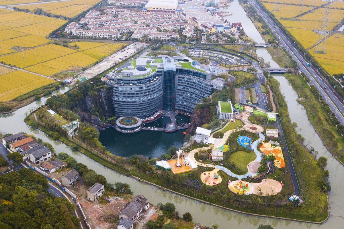 US$288 million Shanghai hotel is the world's deepest – just two of