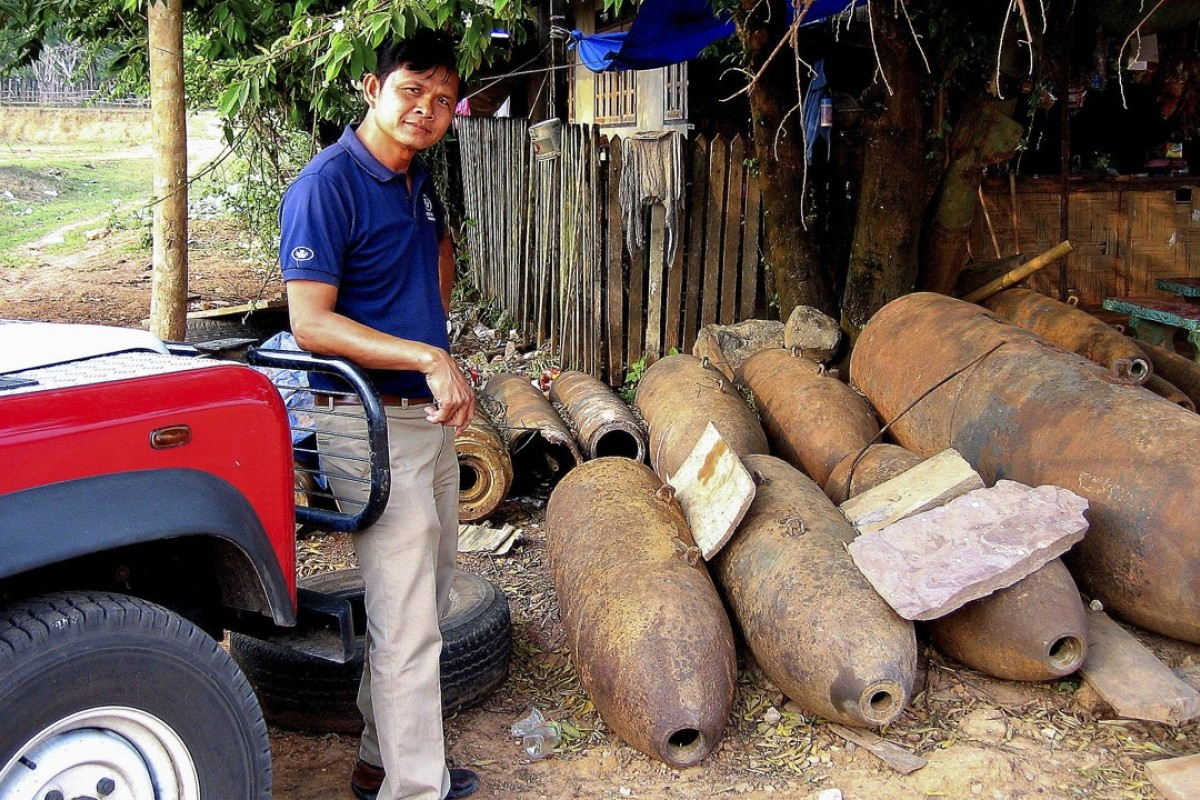 200 years to go before Laos is cleared of unexploded US