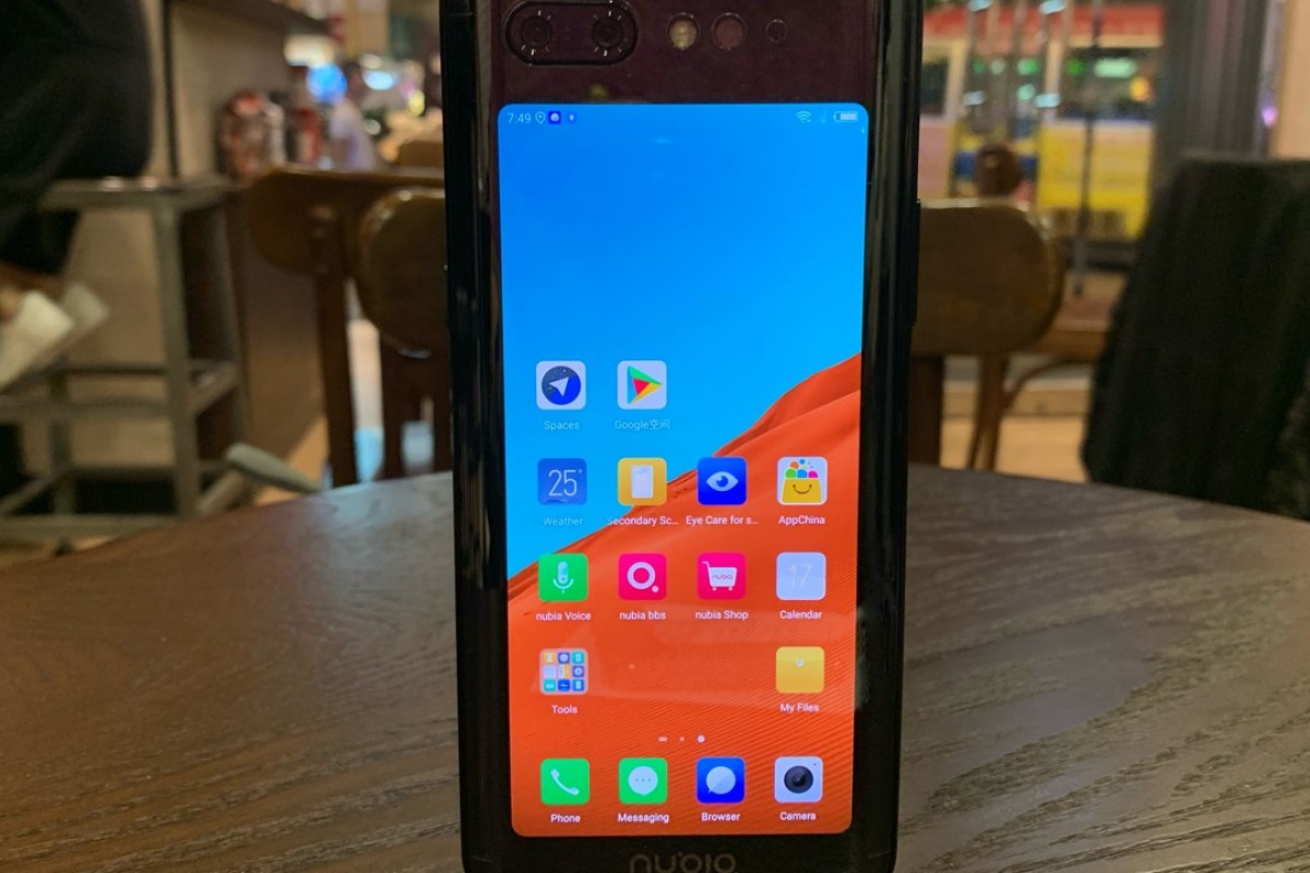 Nubia X dual screen phone first impressions: notch-free handset well