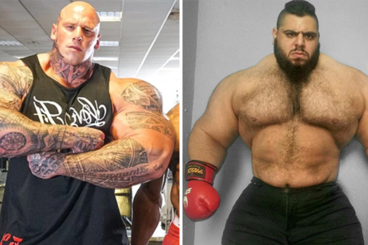 Martyn Ford vs Iranian Hulk? 'Scariest man on the planet