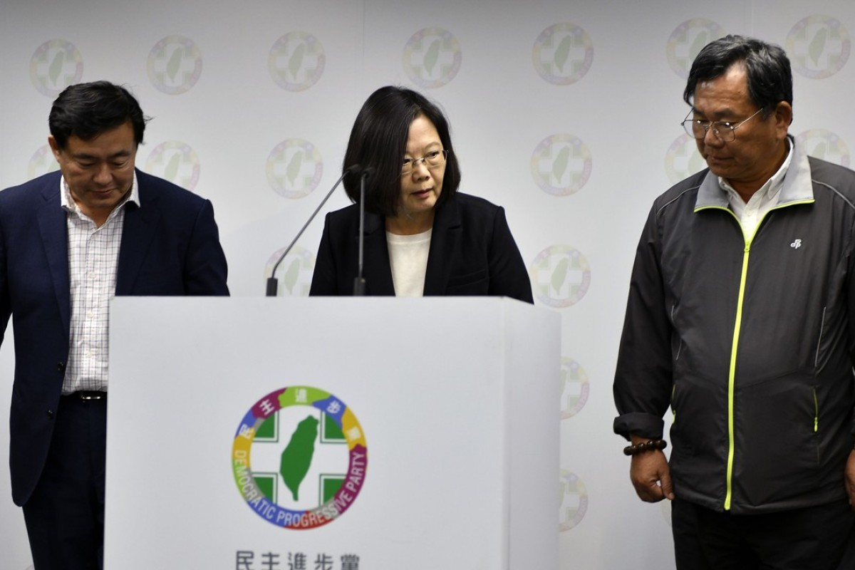 Democratic Progressive Party suffers big defeat in Taiwan elections; Tsai Ing-wen resigns as chairwoman