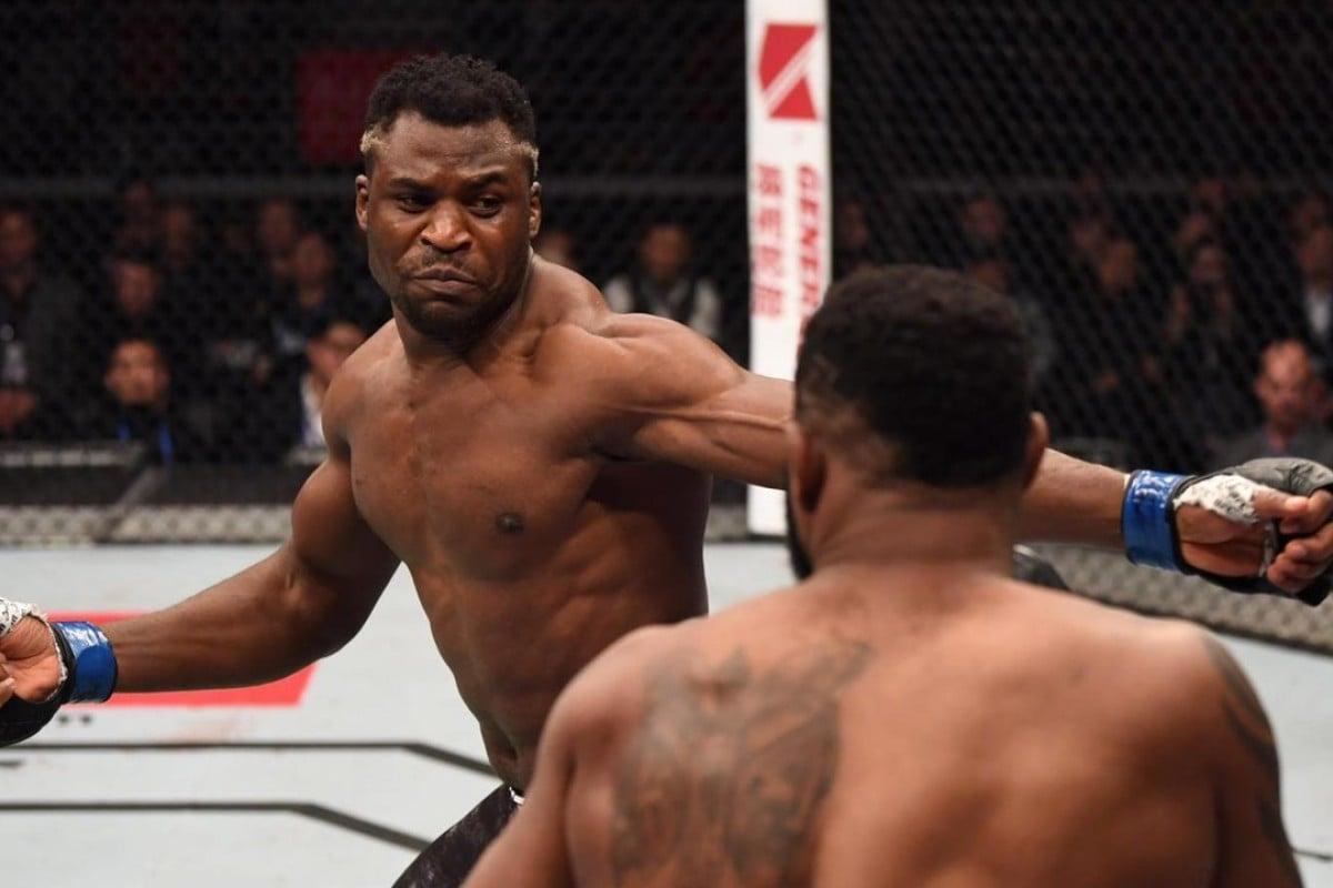 In UFC Beijing Francis Ngannou defeats Curtis Blaydes