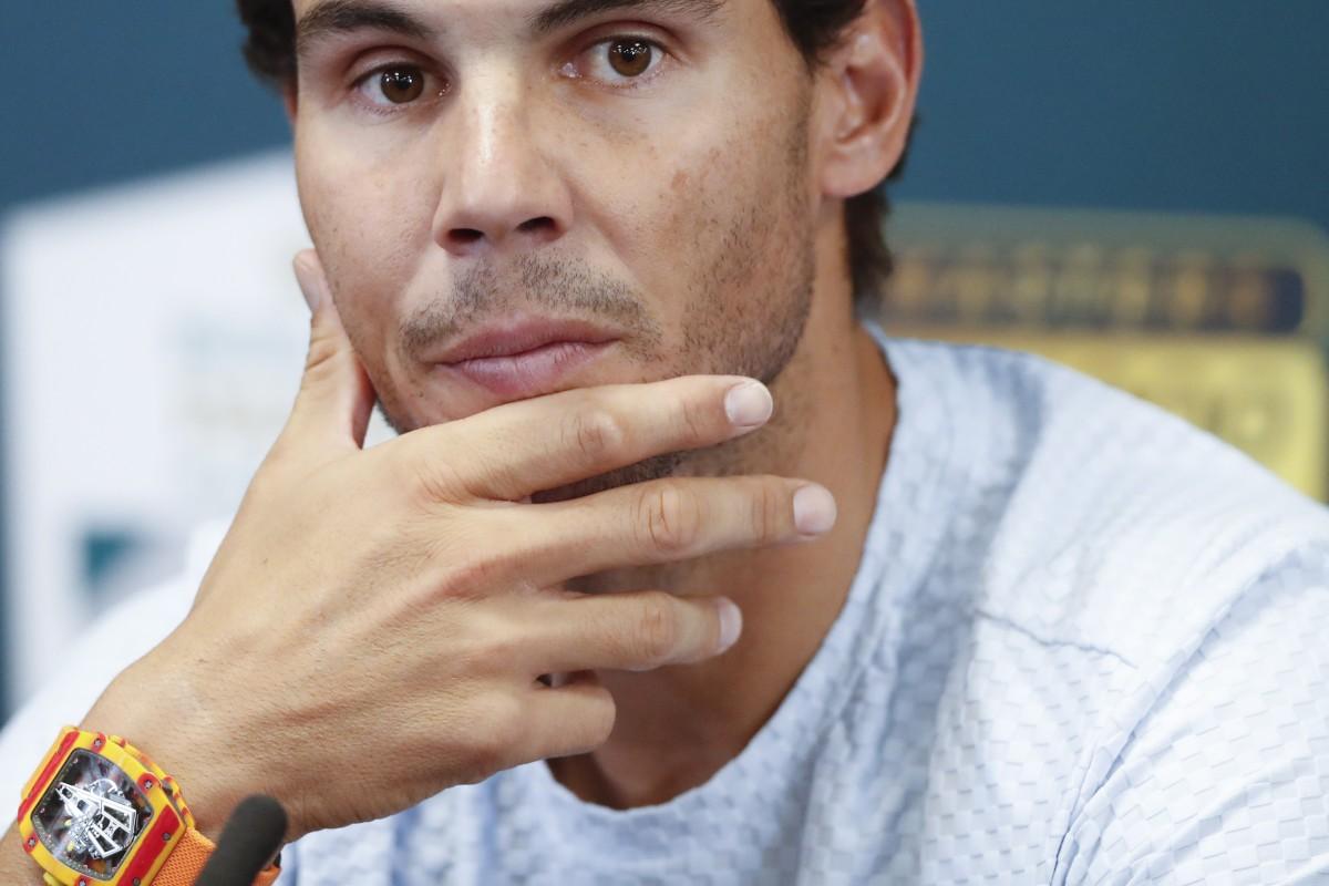 Which luxury watches do elite sports stars like Rafael Nadal prefer