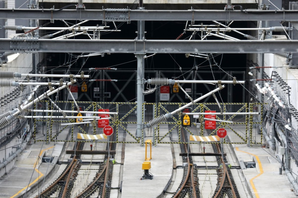 MTR Corp begins breaking open platforms at rail station