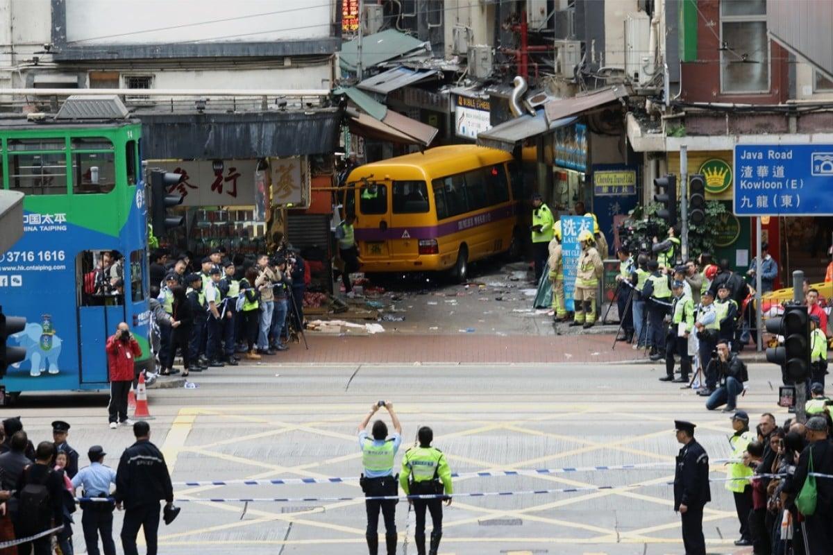North Point crash: witnesses recall horror of runaway Hong