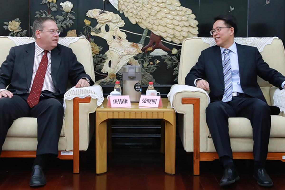 Top Us Diplomat In Hong Kong Met Beijing Leader On City
