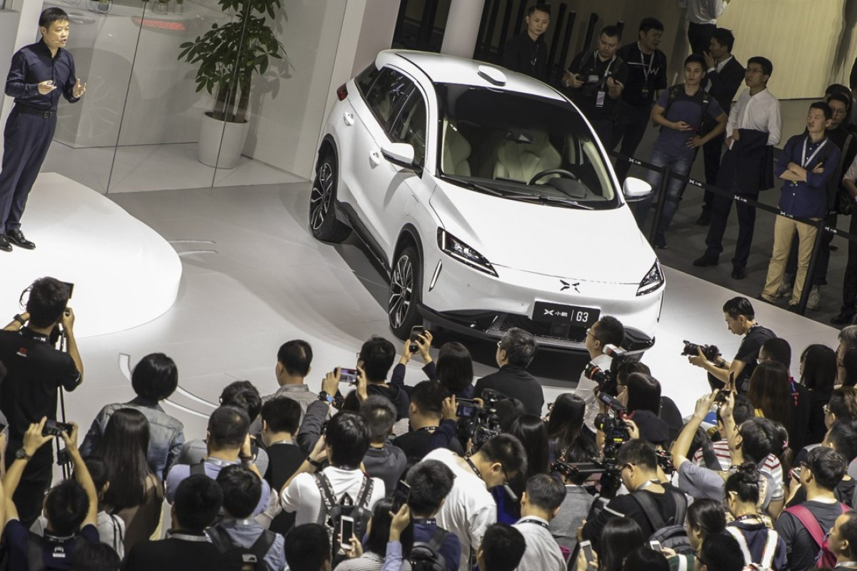 Chinese electric car start-ups like Xpeng make a run for