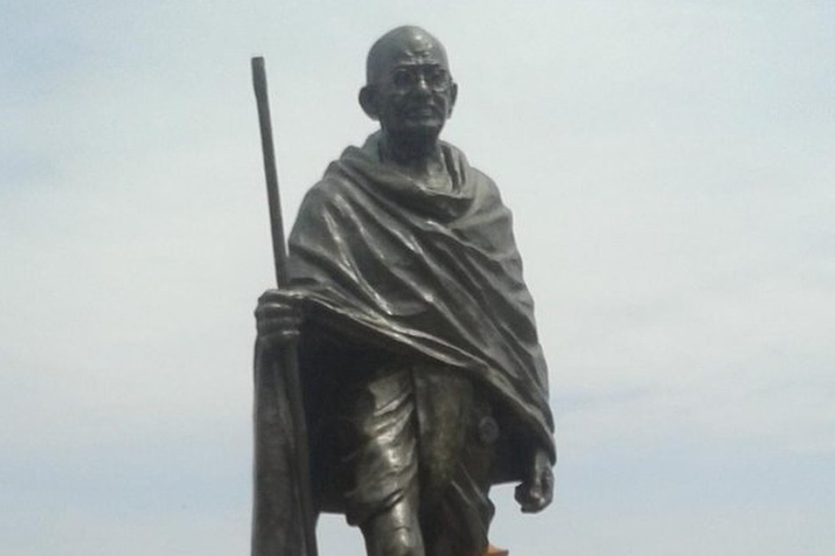 Racist gandhi statue removed from university of ghana