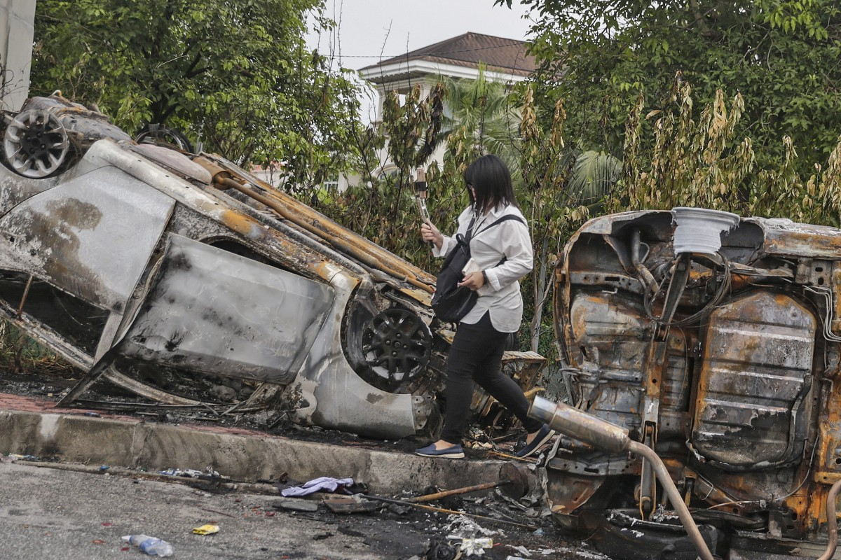 In Malaysia, a firefighter's death threatens to set off long