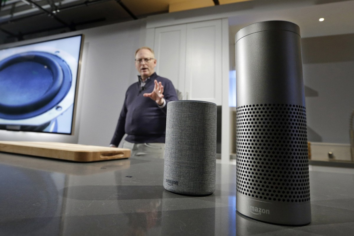 Voice-activated speakers such as Amazon's Echo and Google Home are becoming increasingly popular with tech-savvy consumers. Photo: AP