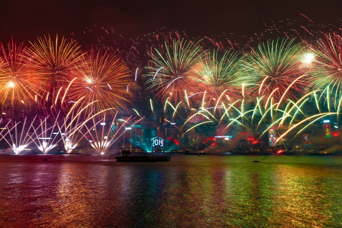 Hong Kong to hold HK$14 million new-year fireworks and light show