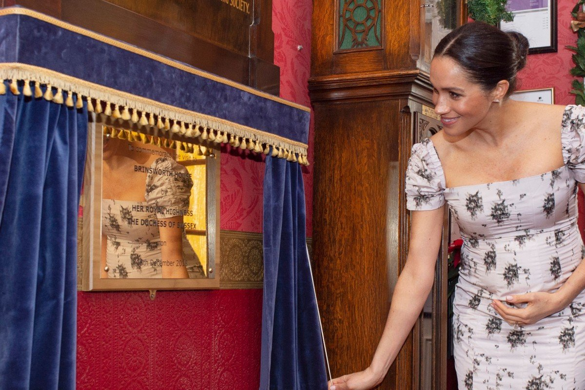 c0bca25ba0 Six months on from her fairytale wedding to Prince Harry at Windsor Castle,  Meghan Markle