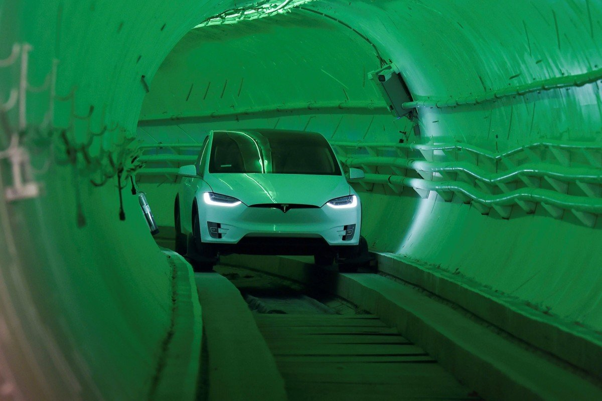 Elon Musk opens first Boring Company test tunnel  Can he
