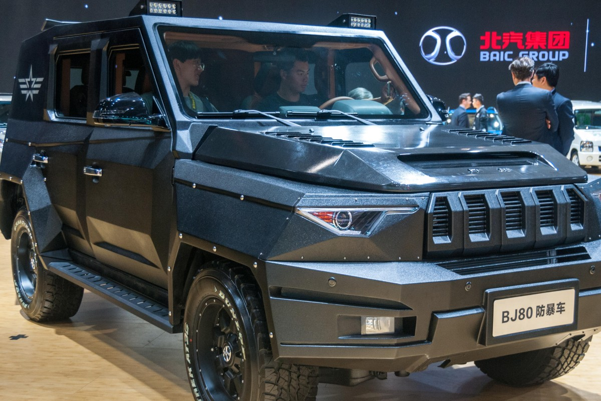Is the Chinese military's off-road sport utility vehicle the