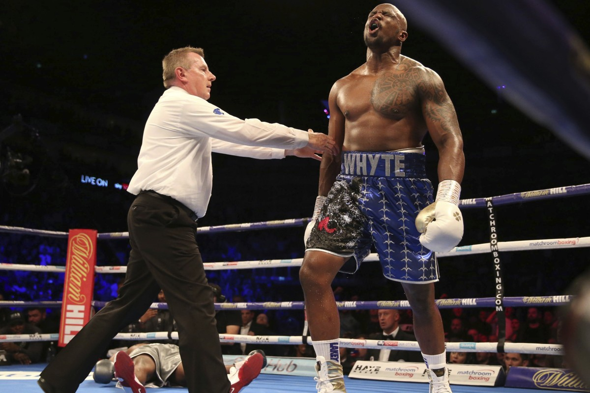 Heavyweight contender Dillian Whyte