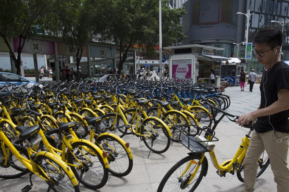 Bike-sharing firm Ofo's dramatic fall from grace a warning
