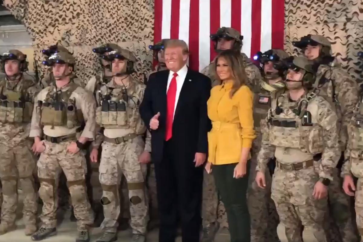 In war-zone blunder, Donald Trump tweets video revealing