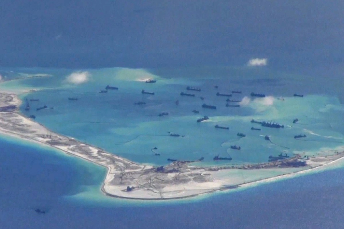 cbbce7e81bc Beijing to restore coral reefs 'damaged by island building' in South ...