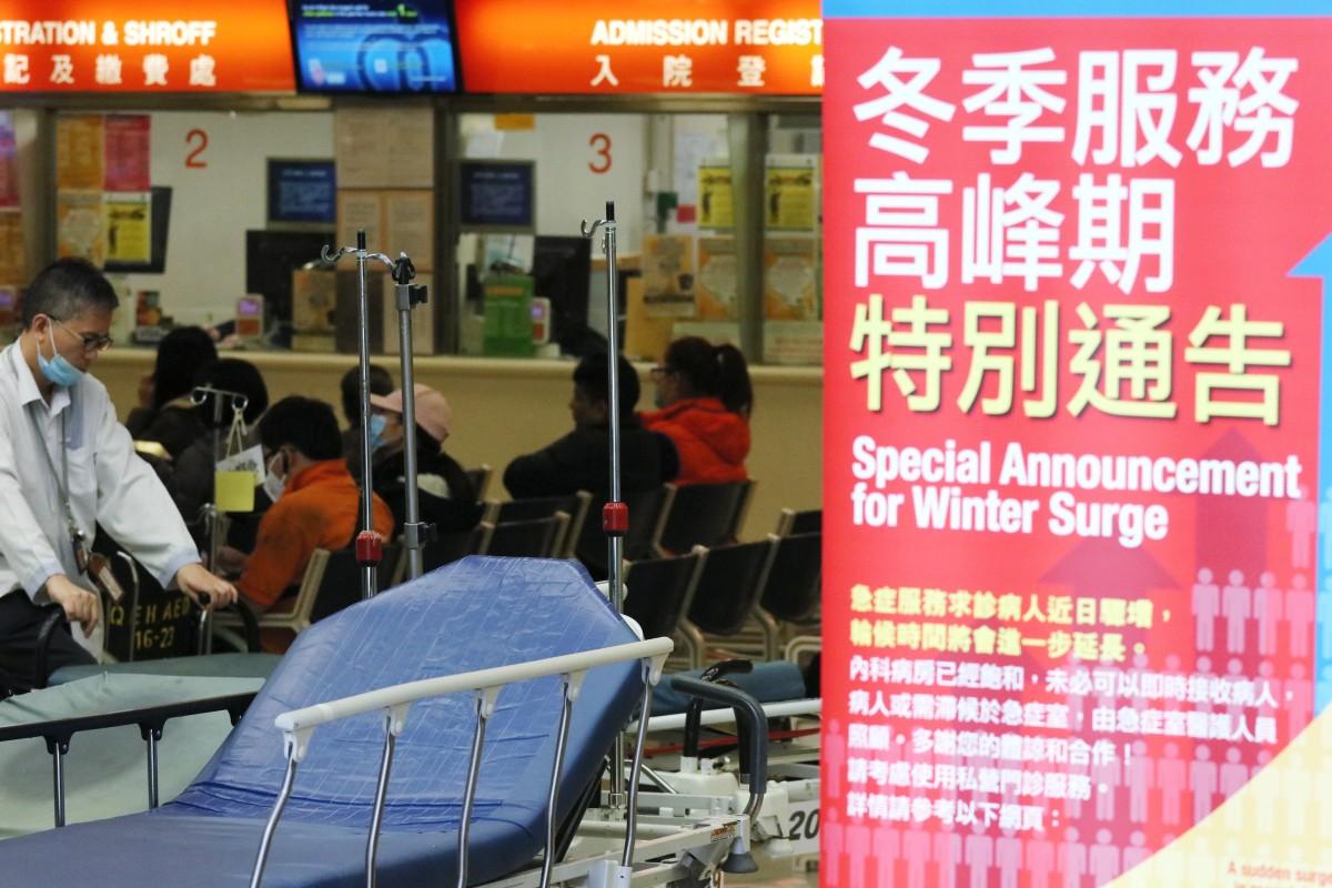 fb5003337 Queen Elizabeth Hospital has an occupancy rate of 120 per cent. Photo   Felix Wong