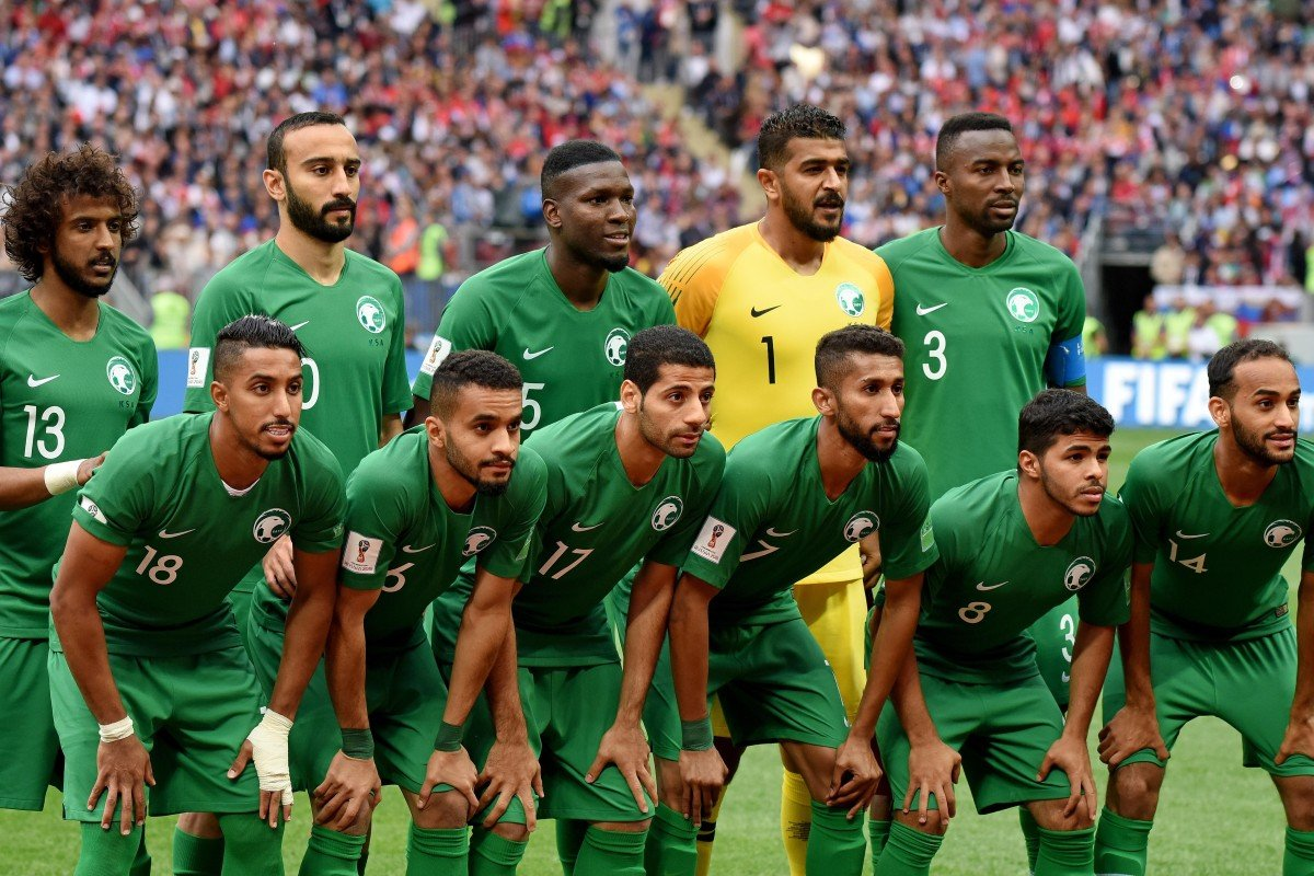 Image result for saudi arabia football team