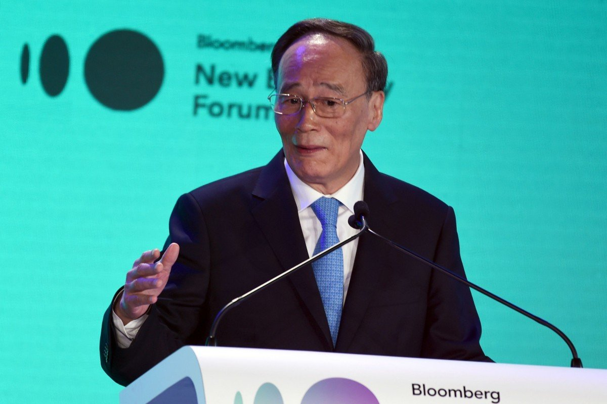 Chinese Vice-President Wang Qishan to lead Davos delegation