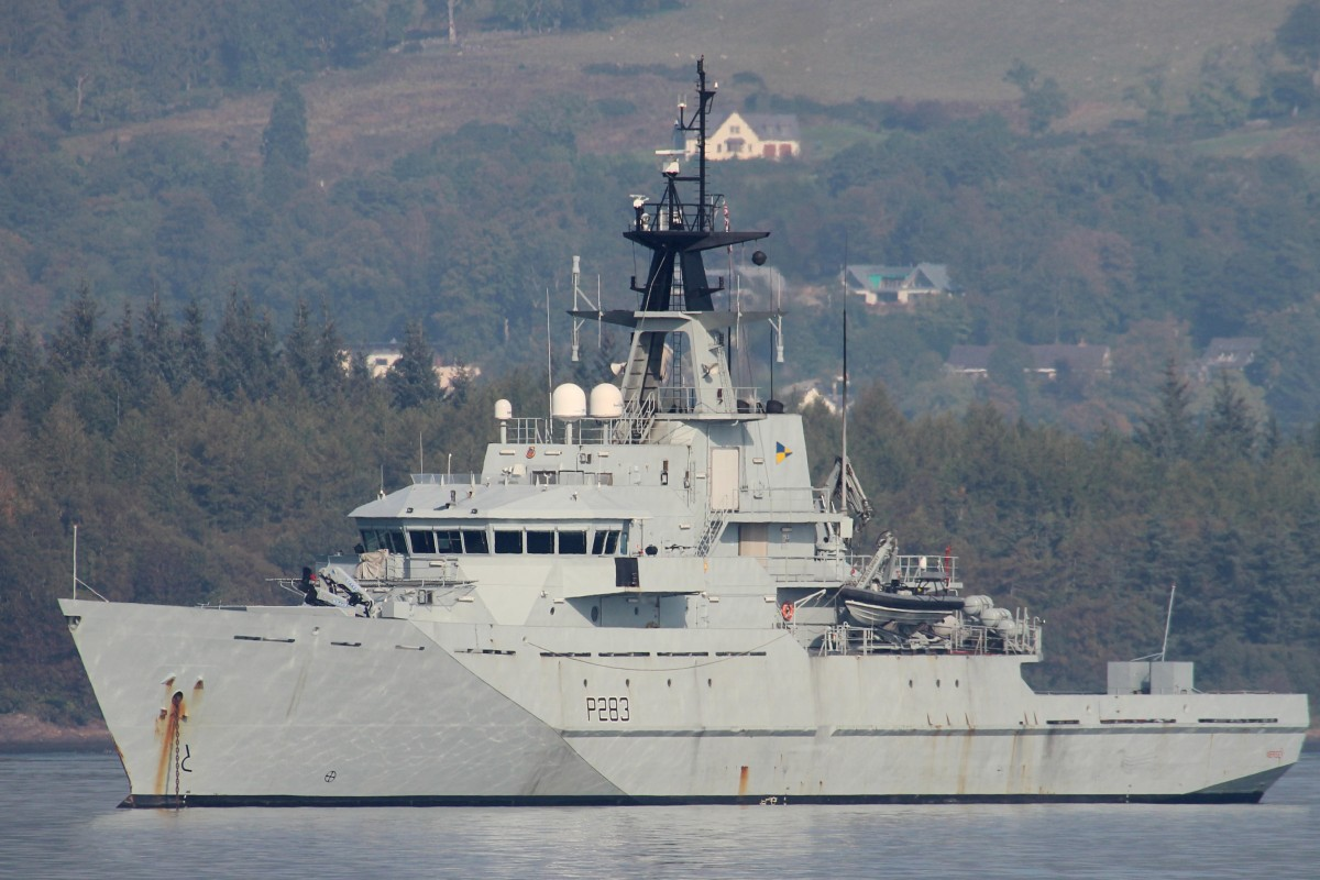 98961874a7 UK navy vessel sent to 'help prevent' migrants crossing English ...