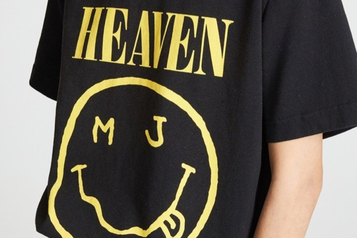 a36a0656 Nirvana sue designer Marc Jacobs over T-shirt's alleged copyright ...