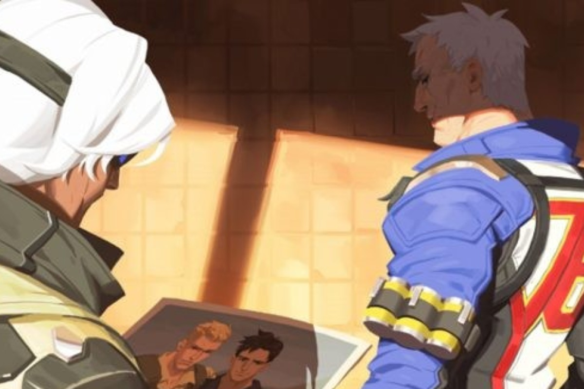 Overwatch video game character Soldier 76 is revealed to be