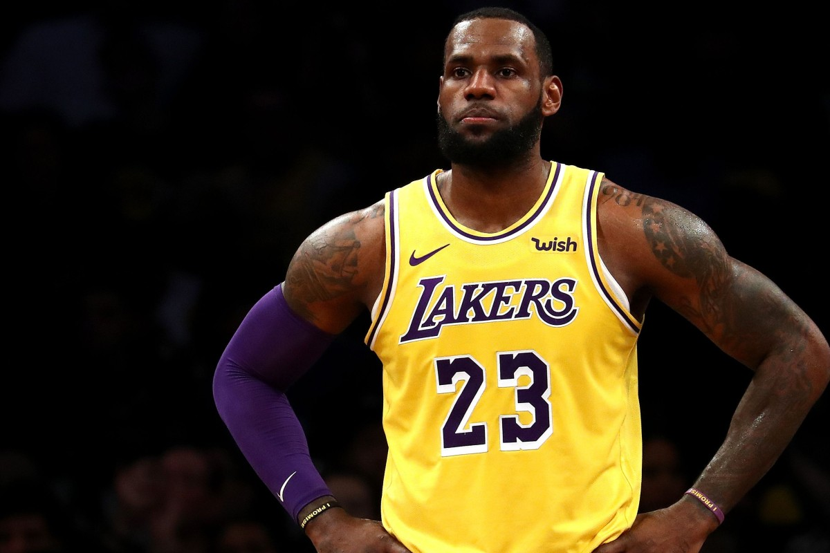 official photos be798 a8d18 LeBron James coming to China as LA Lakers and Brooklyn Nets ...