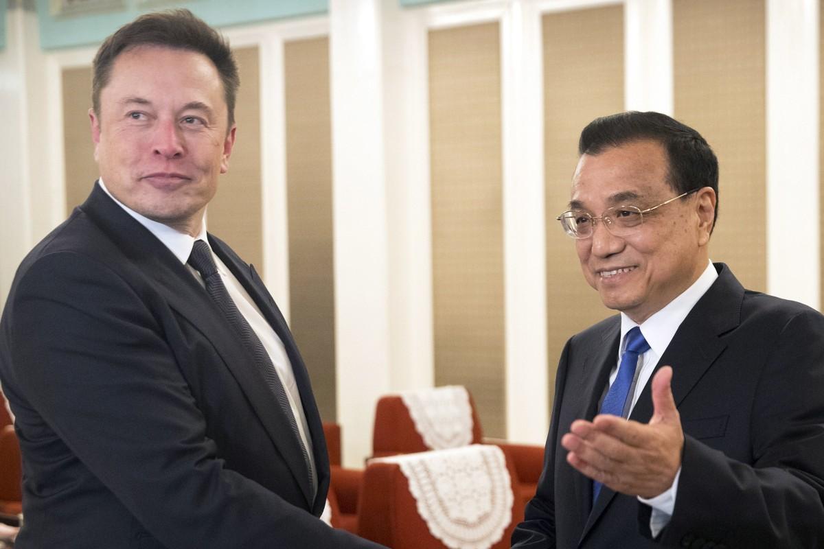 Tesla boss Elon Musk says he loves China, so Premier Li