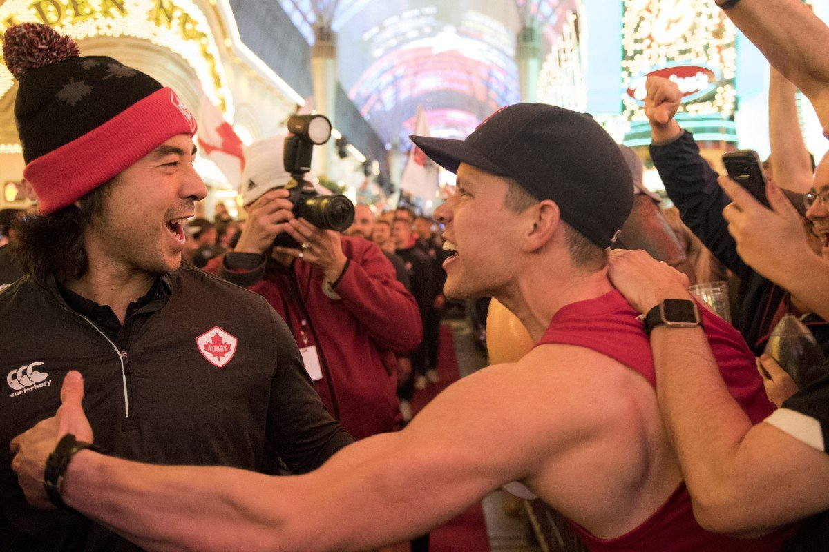 USA rugby sevens in Las Vegas – enough booze and bonhomie to rival