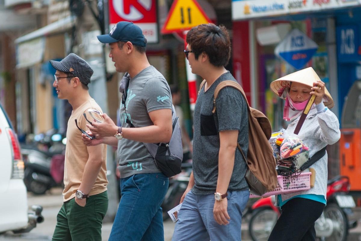 Tourists in Ho Chi Minh, Vietnam. Photo: Shutterstock