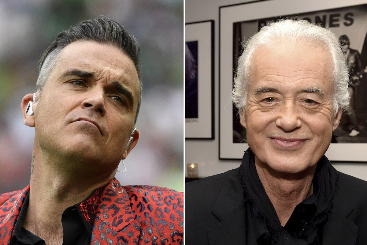 Robbie Williams 'blasts' Black Sabbath and Deep Purple songs
