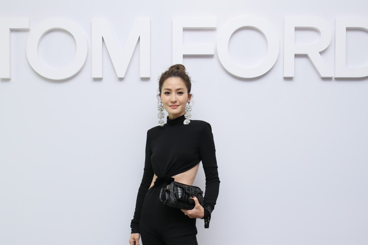 b12b8795b8a Kathy Chow and Yen Kuok celebrate reopening of Tom Ford s IFC Mall ...