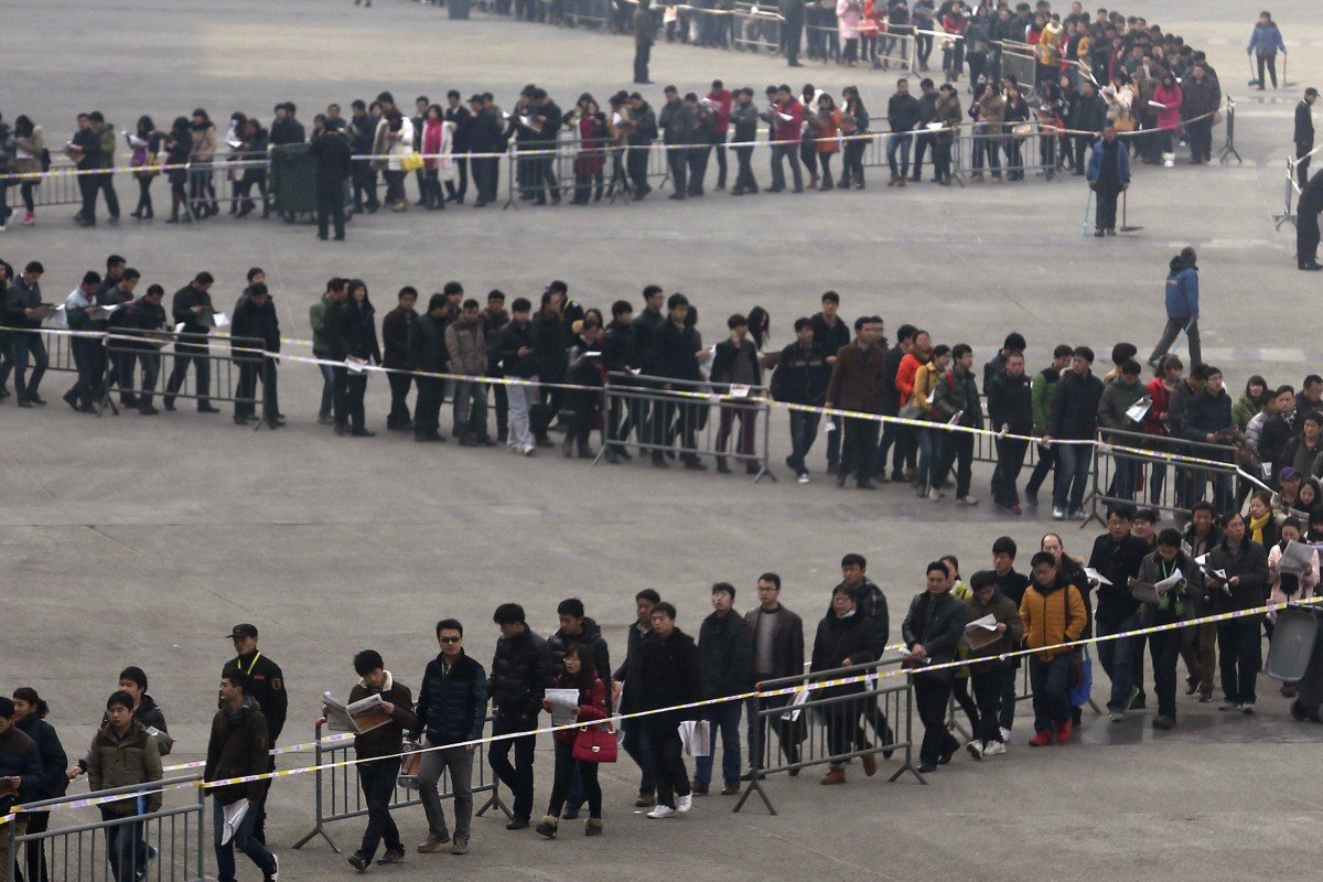Jobs in China's export-import industries wither in the heat of