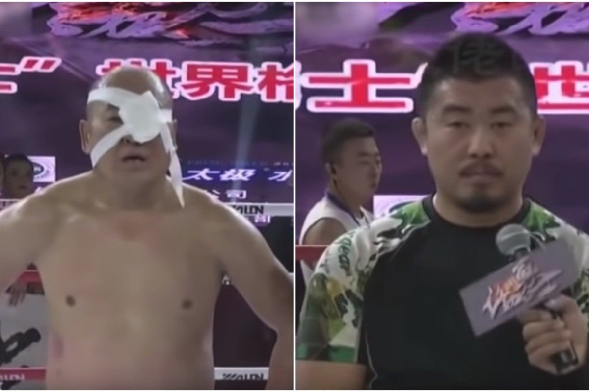 Xu Xiaodong bludgeons another kung fu 'master' as Chinese MMA
