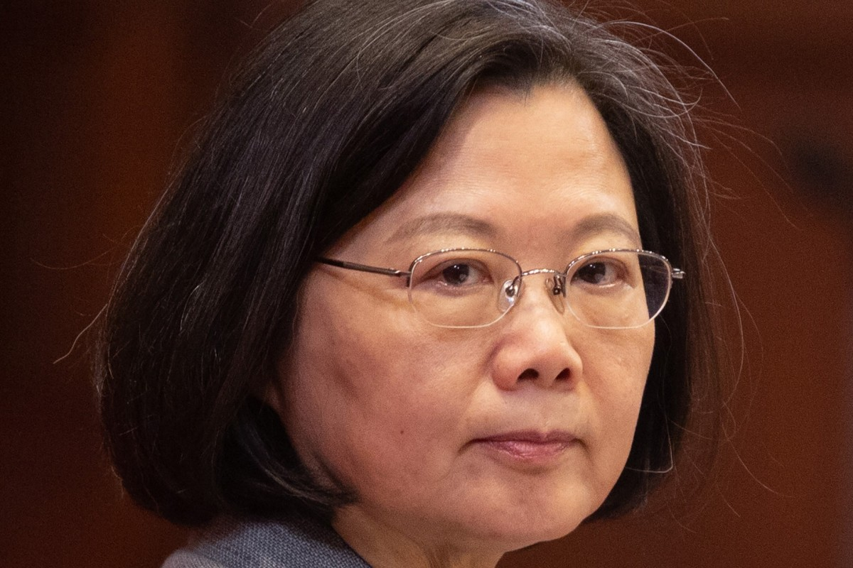 Poll boost for Taiwan's President Tsai Ing-wen after tough stand against Beijing