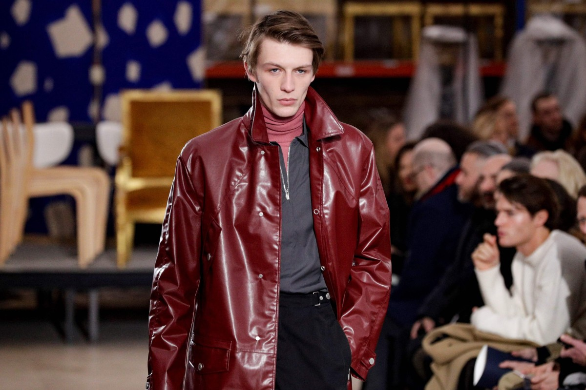 42a787db Hermès menswear designer Veronique Nichanian presented a classy,  colour-rich and masculine showing for