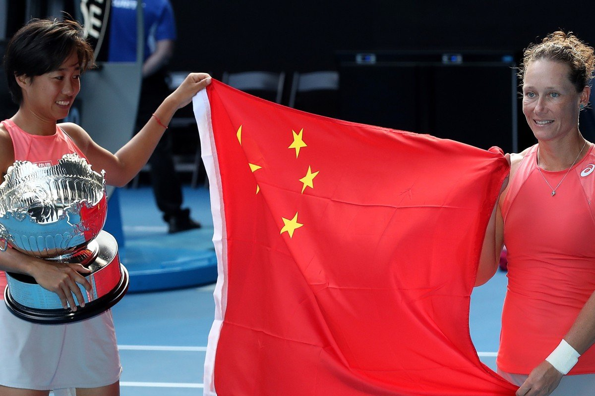 China's Zhang Shuai wins Australian Open women's doubles
