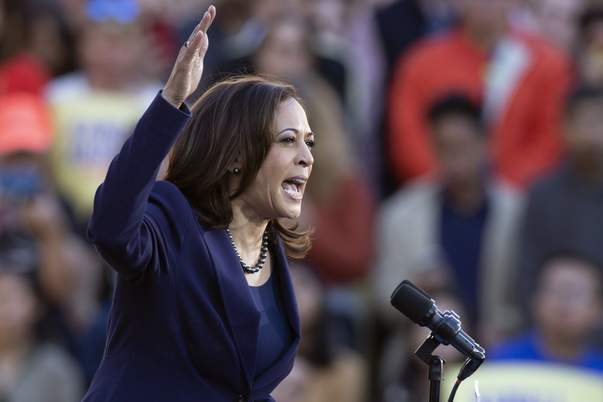 4913744e4 Senator Kamala Harris wrapped her campaign opener around two broad themes:  truth and civility.