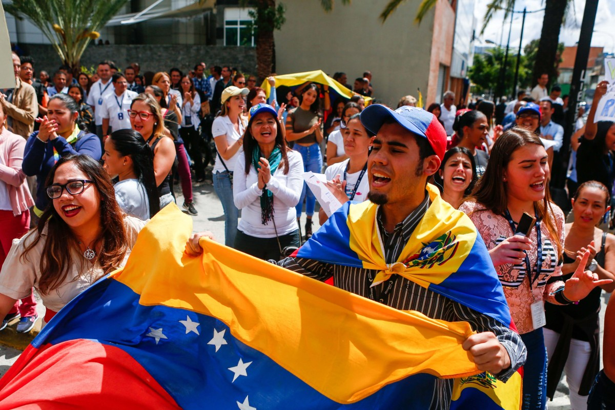As Venezuelans protest, Mexico and Spain call for talks and US