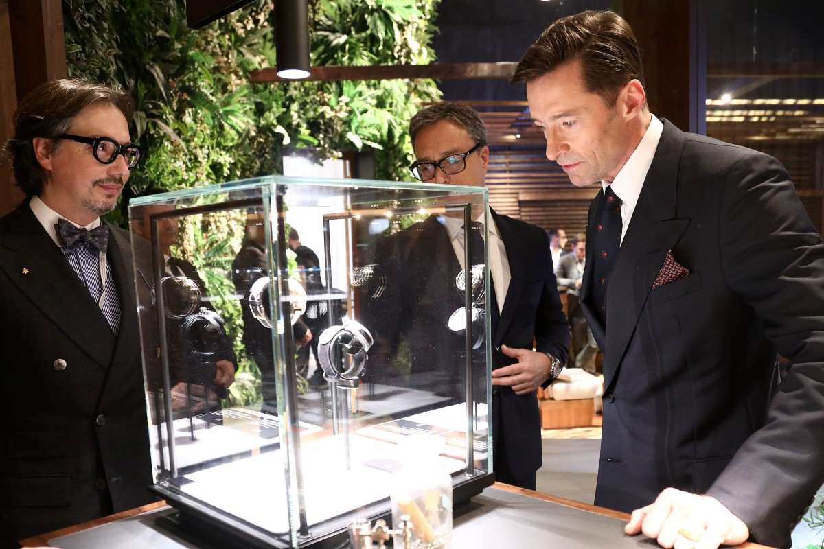 f9495f3a4 Hugh Jackman and Lawrence Wong get into the mood at Montblanc's SIHH ...