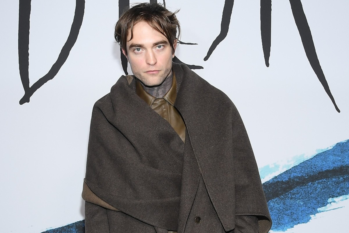 6487b9c18 Actor Robert Pattinson attends Dior's fall-winter 2019 fashion show in  Paris.