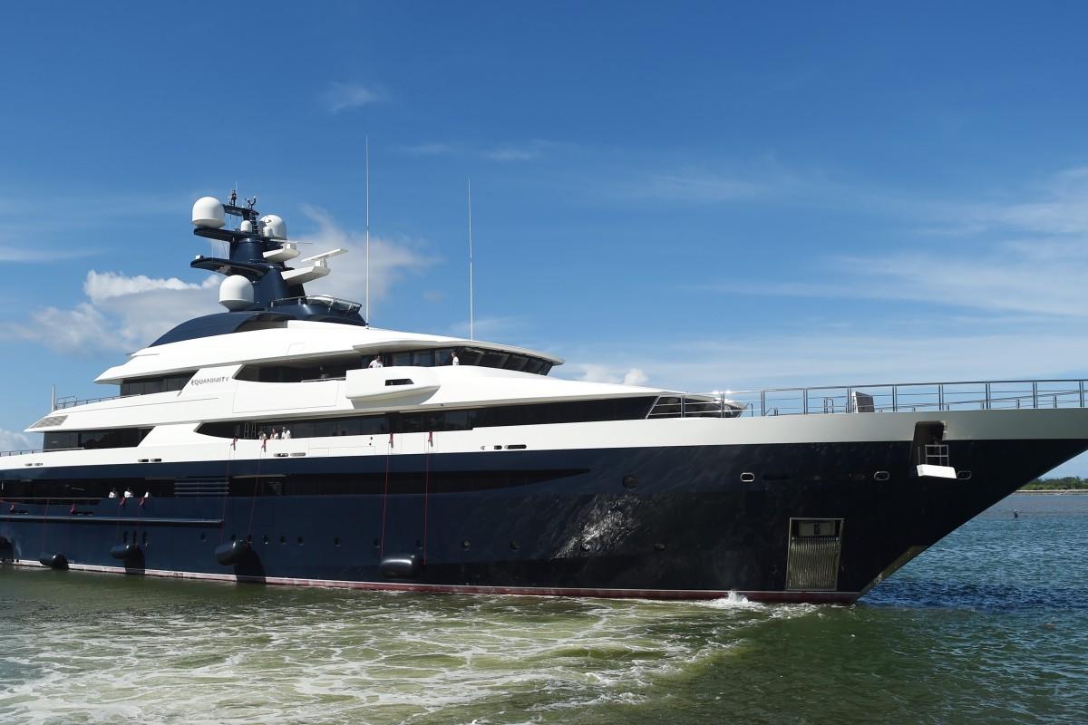Malaysia 1mdb Scandal Jho Low S Luxury Yacht Equanimity Still On