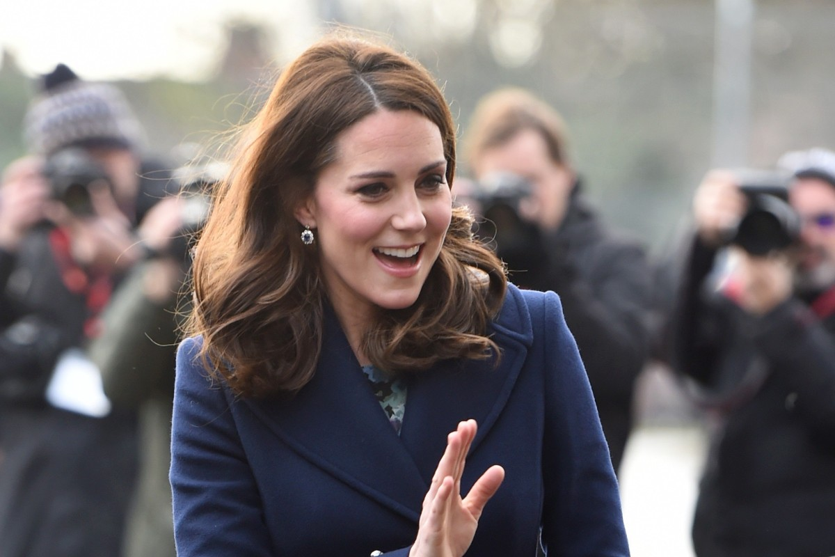 60f3c28fd958c4 The Duchess of Cambridge wears a Hobbs coat to an event in London in  January 2018