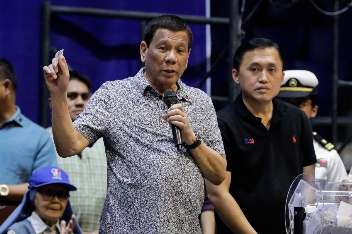 Rodrigo Duterte again channels late dictator Ferdinand Marcos by