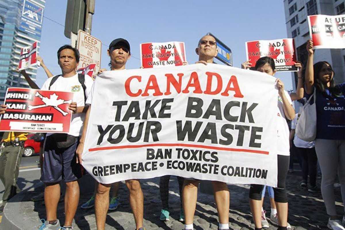 Five years on, Canada's dumped garbage is still causing a big stink
