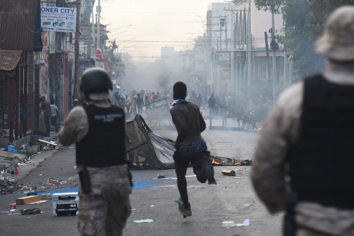 Nearly 80 inmates escape Haiti prison as protesters clash