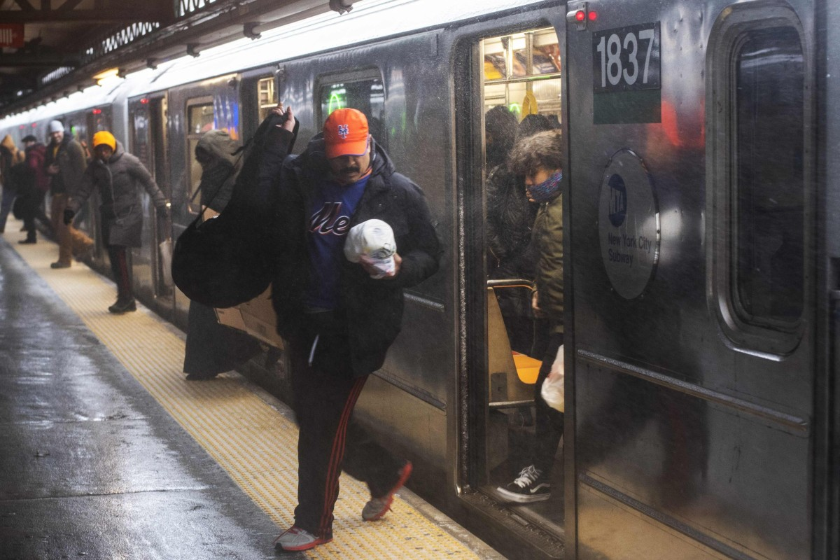 Subway Horror In New York As Passing Train Snags Man Standing Too